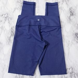 Lululemon Wunder Under Pant Denim Luon Blue Sz. 4